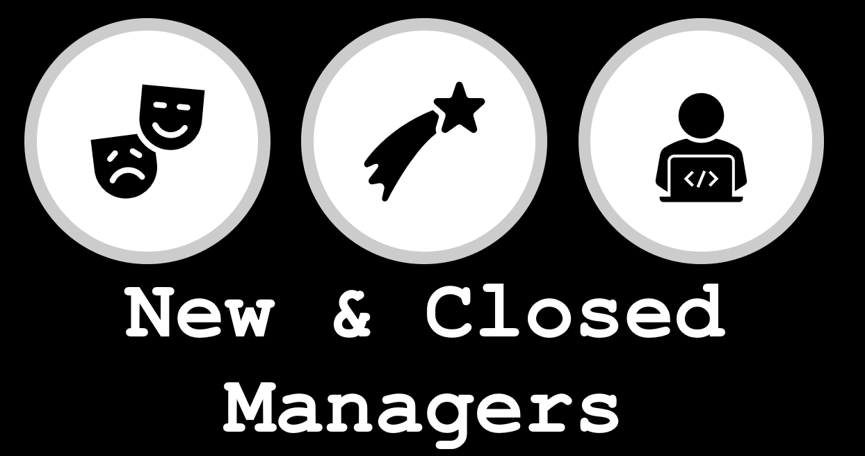 New and Closed Managers March 2020