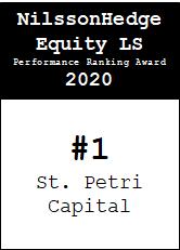 NilssonHedge Performance award: St Petri Capital