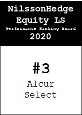 NilssonHedge Performance award: Alcur Select