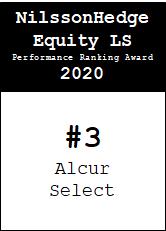 NilssonHedge Performance award: Alcur Select