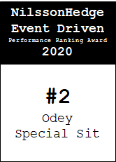 NilssonHedge Performance award: Odey Special Situation