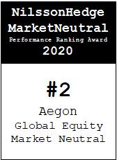NilssonHedge Performance award: Aegon Global Equity Market Neutral
