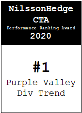 NilssonHedge Performance award: Purple Valley Diversified Trend