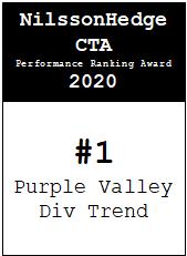 NilssonHedge Performance award: Purple Valley Diversified Trend