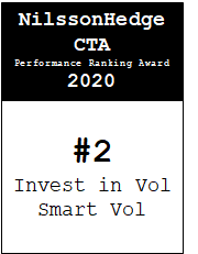 NilssonHedge Performance award: Invest in Vol - Smart Vol