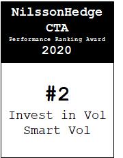 NilssonHedge Performance award: Invest in Vol - Smart Vol